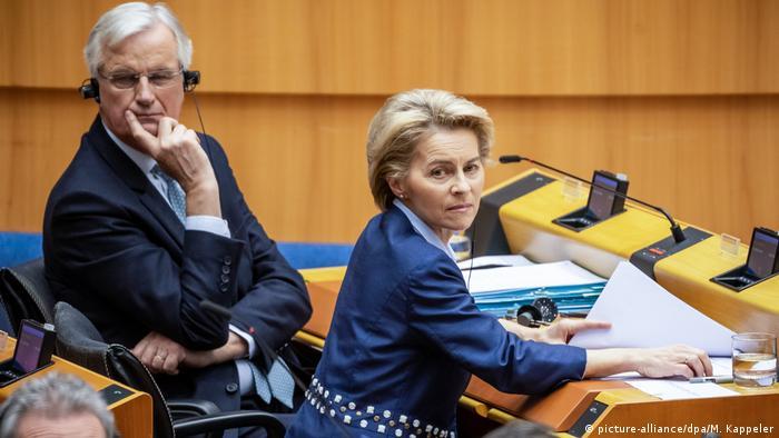 Председателката на ЕК Урсула фон дер Лайен и главният преговарящ Мишел Барние: Следващите дни ще бъдат решаващи