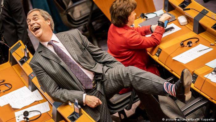 Brexit-Vertrag im Europaparlament gebilligt