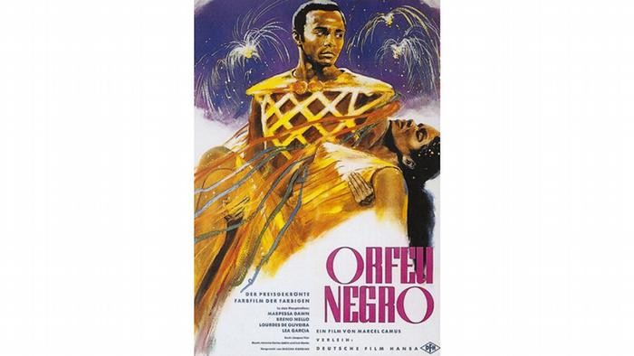 Cartaz do filme Orfeu negro