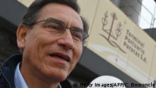 Peru Präsident Martin Vizcarra