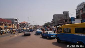 Guinea-Bissau Gesamtaufnahme der Stadt Bissau