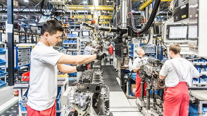 Deutz AG Motorenproduktion