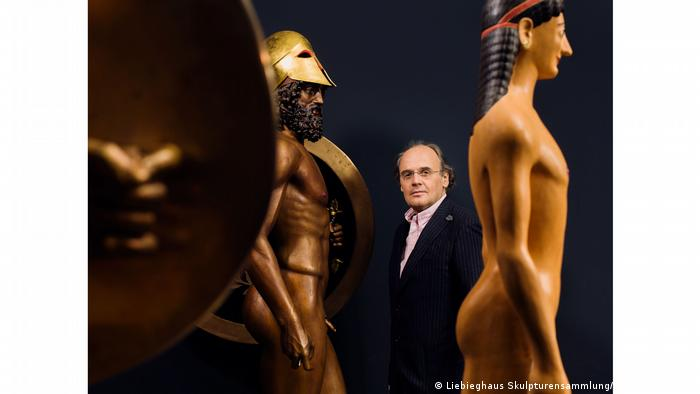 The exhibition Gods in Color at the Liebieghaus Museum in Frankfurt features over 100 works in their original colors.