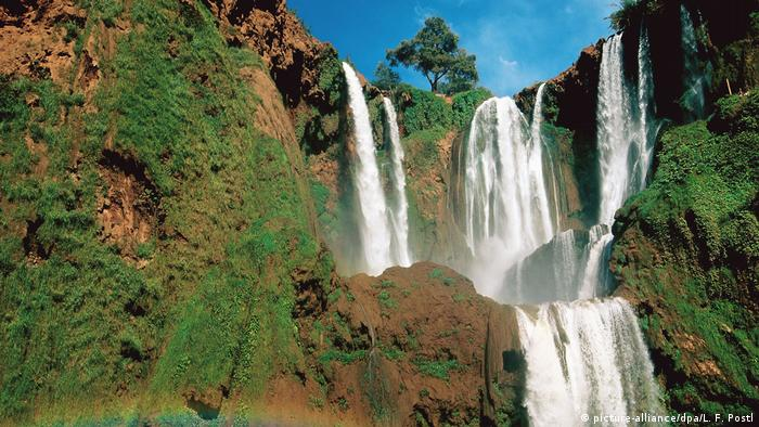 Morocco: Waterfall at Ouzoud (picture-alliance/dpa/L. F. Postl)