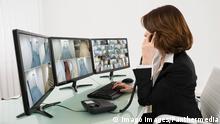 Symbolbild Videoüberwachung Securitykamera