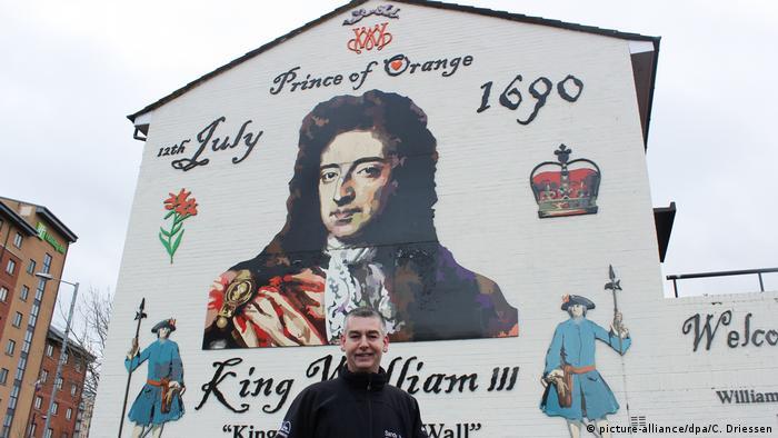 Nordirland | Protestantisches Viertel in Belfast