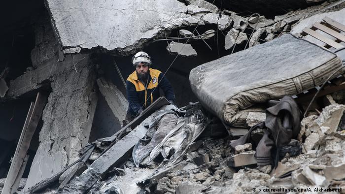 حمله به بیمارستانی در ادلب در ژانویه سال ۲۰۲۰