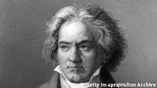 circa 1805: German composer and pianist Ludwig van Beethoven (1770 - 1827). Original Artwork: Engraving after painting by Kloeber (Photo by Hulton Archive/Getty Images)
