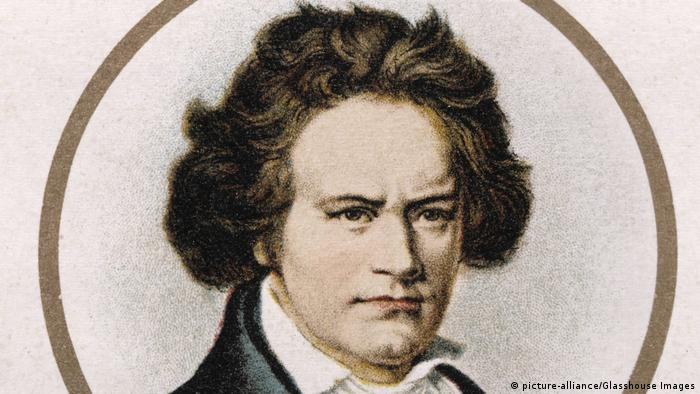 German composer Ludwig van Beethoven (1770-1827) (picture-alliance/Glasshouse Images)