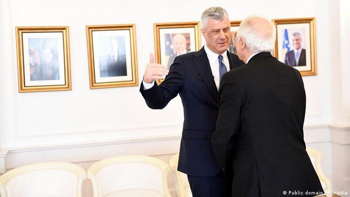 Iz boljih dana za Thacija: susret s Josepom Borellom u Prištini