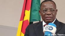 Frankreich Paris | kamerunischer Oppositioneller Maurice Kamto