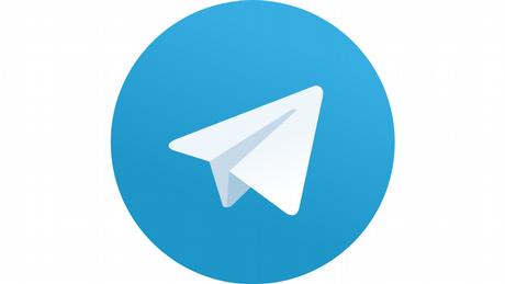 Telegram Logo zur Verlinkung für DW Angebot zu Telegram