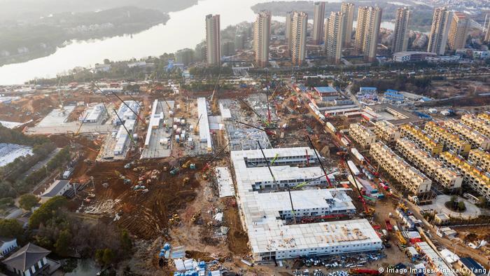 BG Wuhan Krankenhaus (Imago Images/Xinhua/C. Yang)