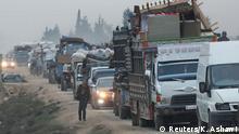 Syrien | Menschen fliehen aus Idlib