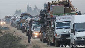 سازمان ملل میگوید ۷۰۰ هزار آواره سوری از ادلب به مرزهای ترکیه فرار کردهاند