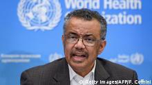 Schweiz Genf | Pressekonferenz WHO - Tedros Adhanom Ghebreyesus Ruft Gesundheitsnotstand wegen Coronavirus aus
