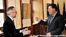 Deutschland Treffen Michael Roth und Miltiadis Varvitsiotis