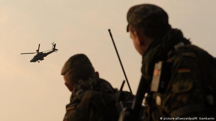 Bundeswehrausbildung für Afghanistan (picture-alliance/dpa/M. Gambarini)