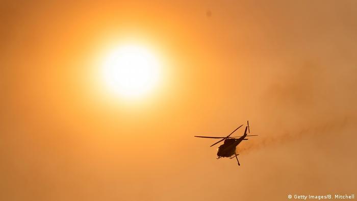 Buschbrände in Australien - Canberra