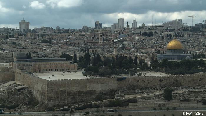 A view of east Jerusalem