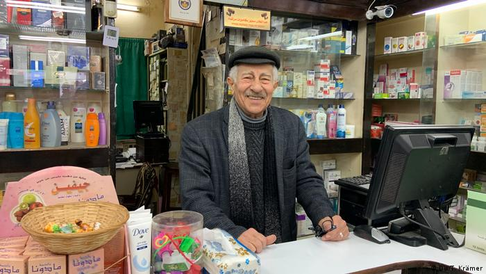Jerusalem pharmacist Ismail Kadourah (DW/T. Krämer)