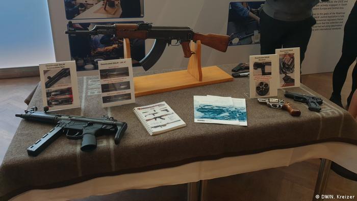 Oružje prikazano na konferenciji u Saveznom ministarstvu vanjskih poslova u Berlinu