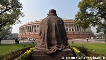 Indien Parlament Gebäude
