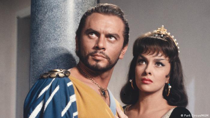 Кадр із фільму Соломон і цариця Савська