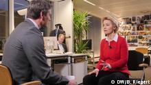 Belgien Brüssel | DW Interview: Max Hofmann im Gespräch mit Ursula von der Leyen