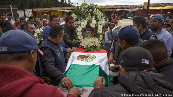 Mexiko   Beerdigung von Umweltaktivist Homero Gómez González