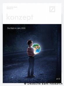 Обложка опубликованного сборника прогнозов Deutsche Bank