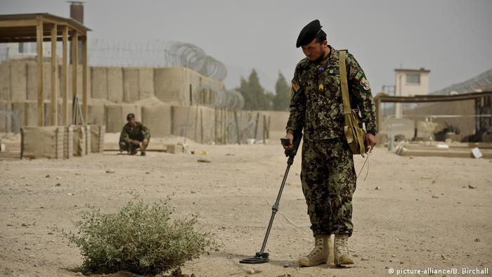 US-Minenräumdienst in Afghanistan