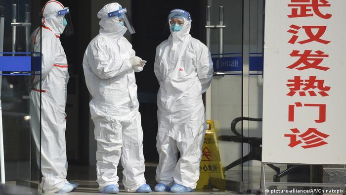 China: Coronavirus (picture-alliance/AP/Chinatopix)