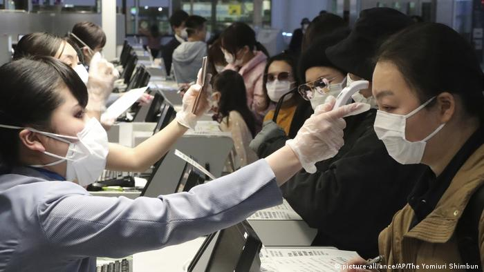 China, Wuhan: Coronavirus