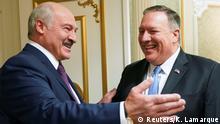 Weißrussland | US-Außenminister Pompeo trifft Präsdent Lukashenko
