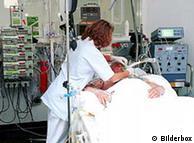 Eutanásia praticada numa unidade de terapia intensiva