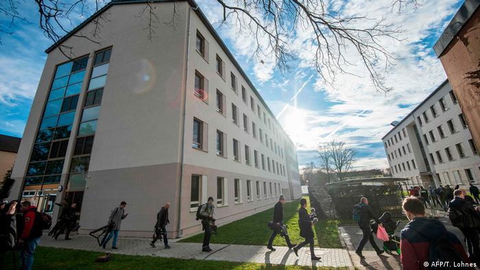 Germersheim Quarantänehaus für Corona-Evakuierte (AFP/T. Lohnes)