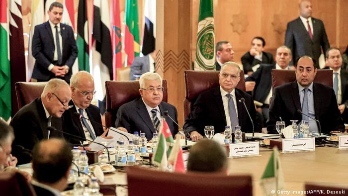 Meeting of Arab League in Cairo