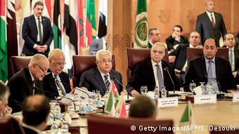 Σε μία από τις τελευταίες δημόσιες εμφανίσεις του, σε συνεδρίαση του Αραβικού Συνδέσμου στο Κάιρο τον περασμένο Φεβρουάριο