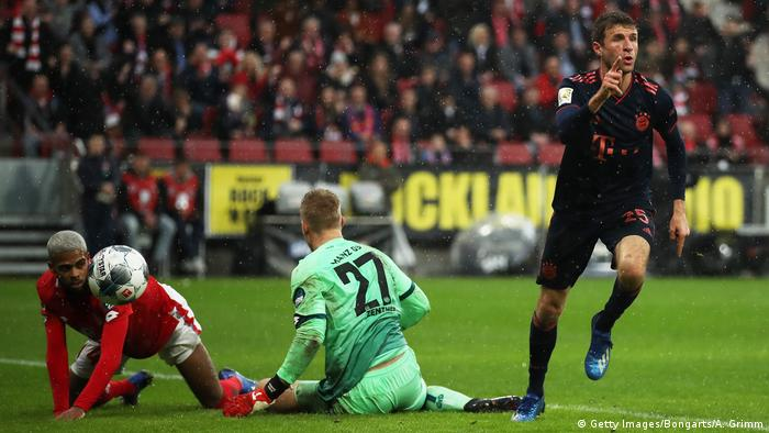 1. Bundesliga 20. Spieltag | 1. FSV Mainz 05 vs. FC Bayern München | 2. TOR Bayern (Getty Images/Bongarts/A. Grimm)