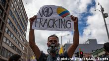 Kolumbien Proteste gegen Fracking