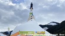 Österreich Grösster Schneemann der Welt