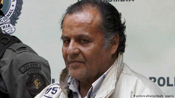 Hely Mejia Mendoza FARC Kommandeur (picture-alliance/dpa/G. Legaria)