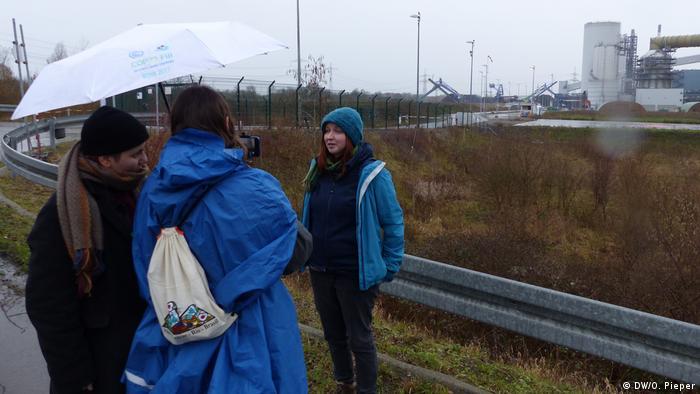 Deutschland Steinkohlekraftwerk Datteln 4 | Besetzung durch Aktivisten | Katrin Henneberger