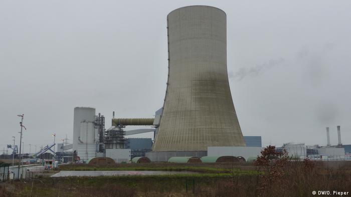 Deutschland Steinkohlekraftwerk Datteln 4 | Besetzung durch Aktivisten | Protest