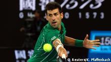 Tennis Australian Open Männer Finale Novak Djokovic - Dominic Thiem
