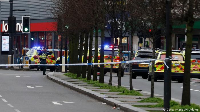 На месте предполагаемого теракта на юге Лондона, 2 февраля 2020 года