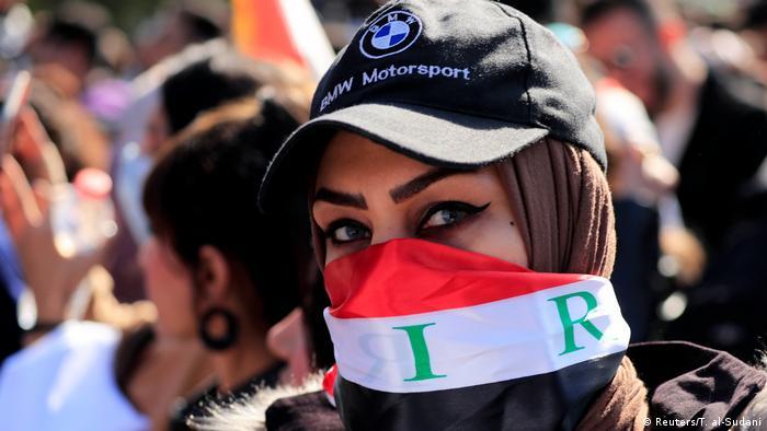 Irak Bagdad | Anti-Regierungsprotest | Demonstration gegen Mohammed Allawi, neuer Regierungschef