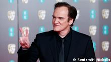 Quentin Tarantino arrives at the British Academy of Film and Television Awards (BAFTA) at the Royal Albert Hall in London, Britain, February 2, 2020. REUTERS/Henry Nicholls