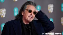 Al Pacino arrives at the British Academy of Film and Television Awards (BAFTA) at the Royal Albert Hall in London, Britain, February 2, 2020. REUTERS/Toby Melville